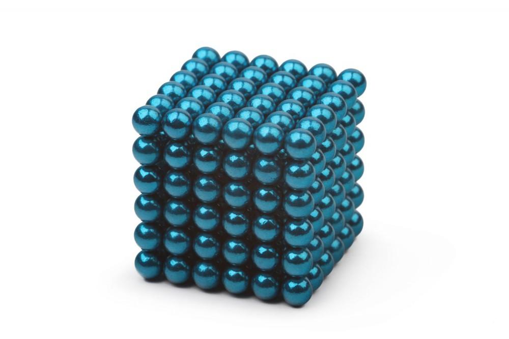 Forceberg Cube - куб из магнитных шариков 5 мм, бирюзовый, 216 элементов в Белгороде