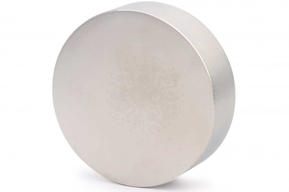 Неодимовый магнит диск 100х30 мм в Краснодаре