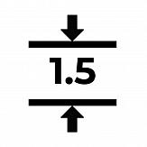 Магнитный винил толщиной 1.5 мм