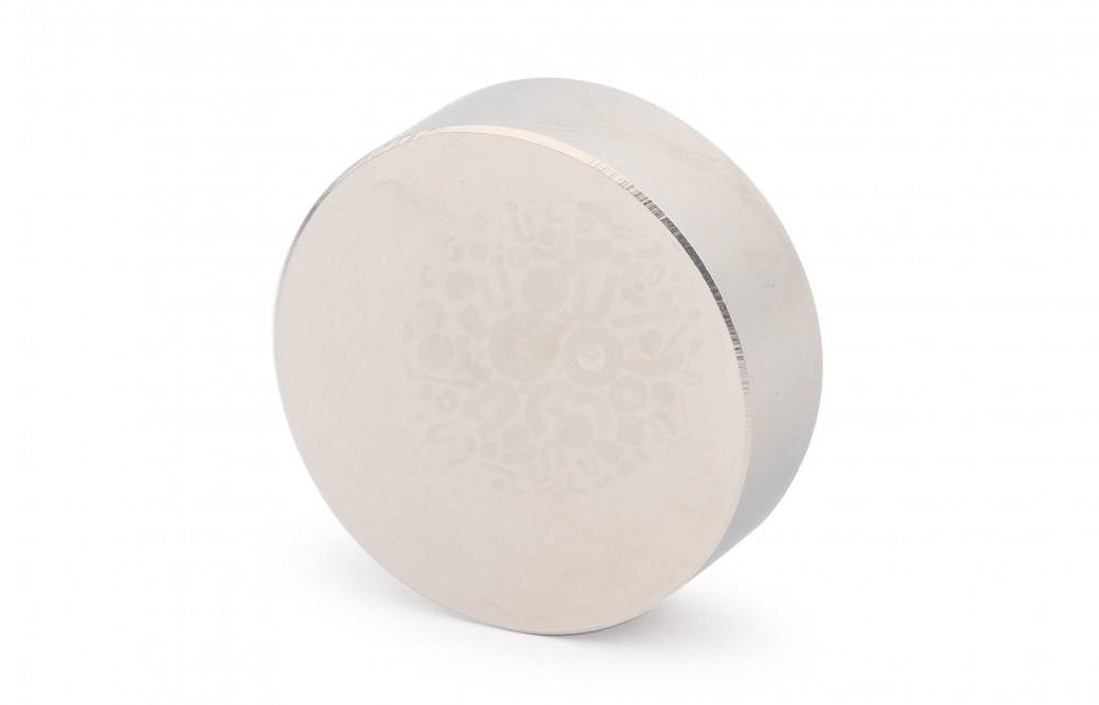 Неодимовый магнит диск 45х15 мм в Санкт-Петербурге