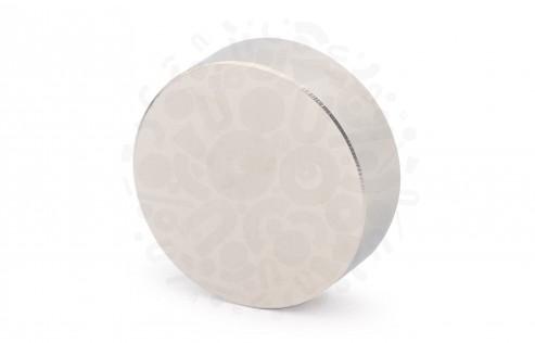Неодимовый магнит диск 45х15 мм в Ростове-на-Дону