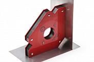 Магнитный держатель для сварки для 3-х углов. Максимальное усилие 45 кг