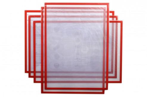 Магнитная слайд-рамка А3 матовая, красная (5 шт) в Волгограде