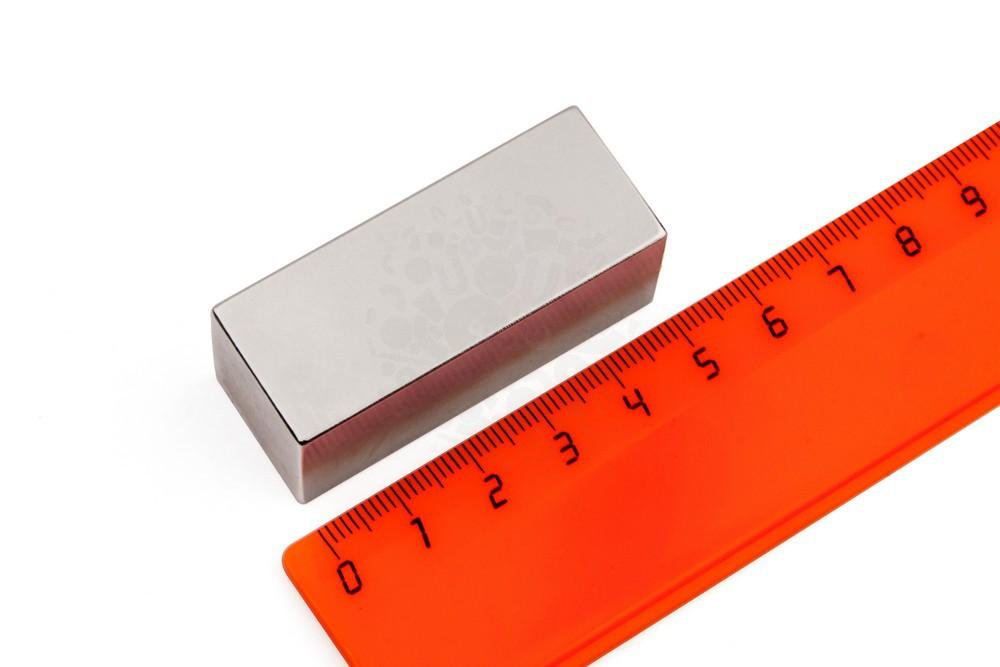 Неодимовый магнит прямоугольник 50х20х20 мм, N33 в Иваново