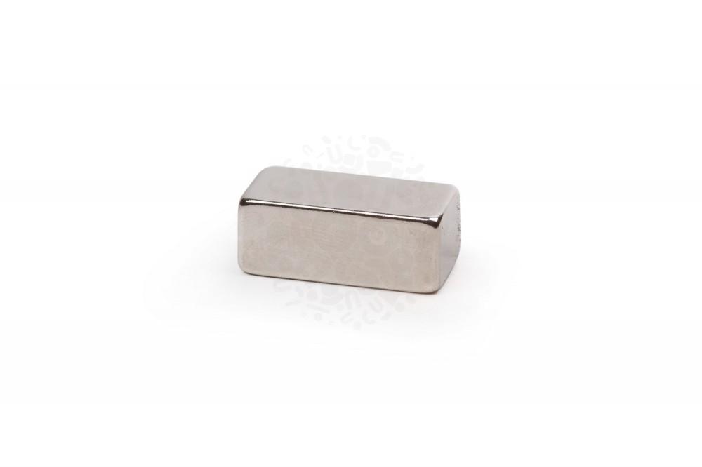 Неодимовый магнит прямоугольник 25х10х12 мм, N52 в Уфе