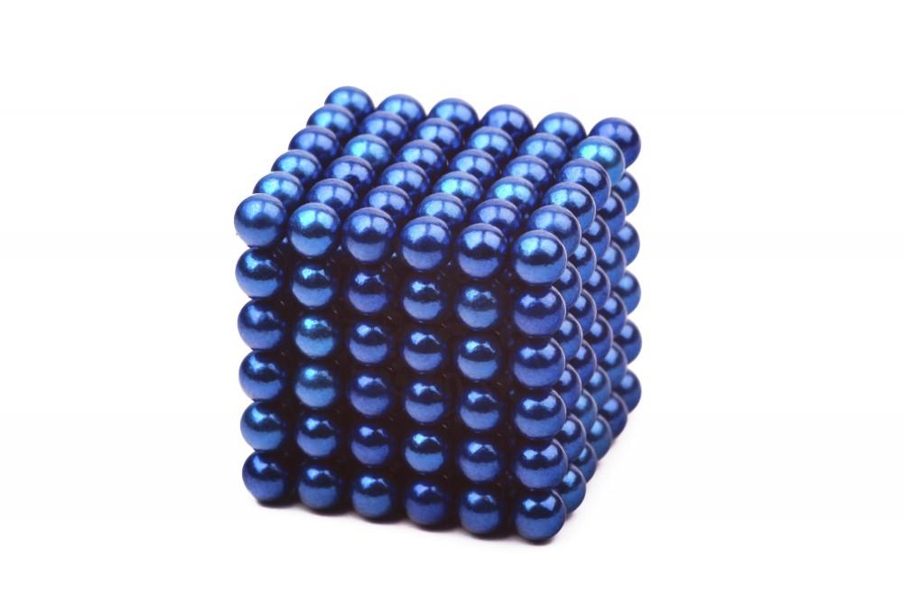 Forceberg Cube - куб из магнитных шариков 5 мм, синий, 216 элементов в Москве
