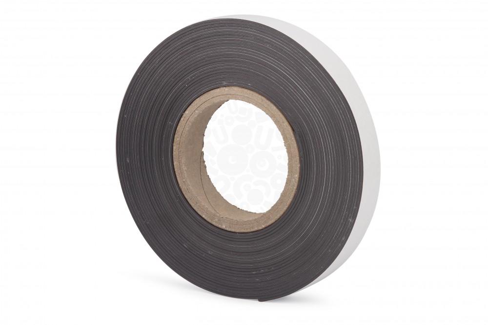 Магнитная лента 25.4 мм, рулон 10м с клеевым слоем в Курске