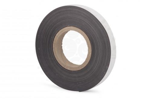 Магнитная лента 25.4 мм, рулон 10м с клеевым слоем в Уфе