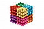Forceberg Cube - куб из магнитных шариков 5 мм, цветной, 216 элементов, 8 цветов