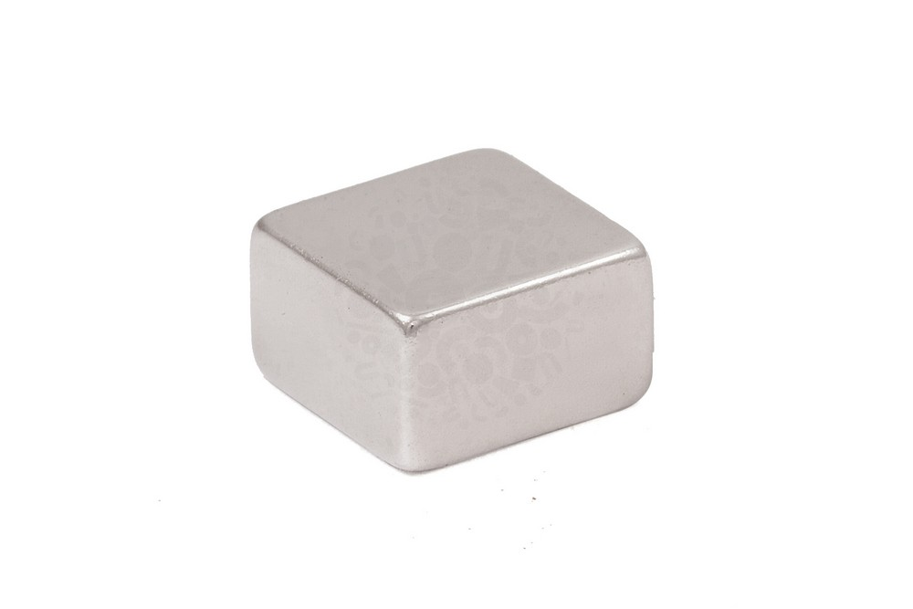 Неодимовый магнит прямоугольник 10х10х6 мм, N42 в Липецке