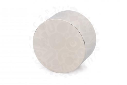 Неодимовый магнит диск 50х30 мм в Москве