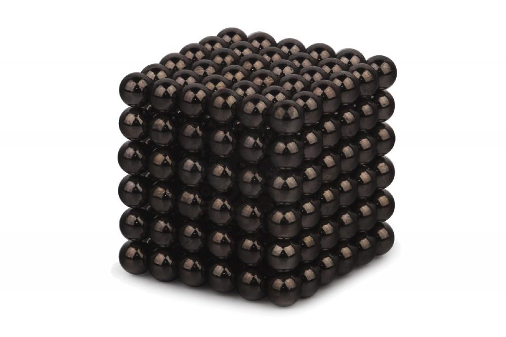 Forceberg Cube - куб из магнитных шариков 5 мм, черный, 216 элементов в Красноярске