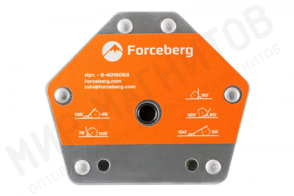 Усиленный магнитный уголок для сварки и монтажа конструкций для 6 углов Forceberg, усилие до 50 кг в Белгороде