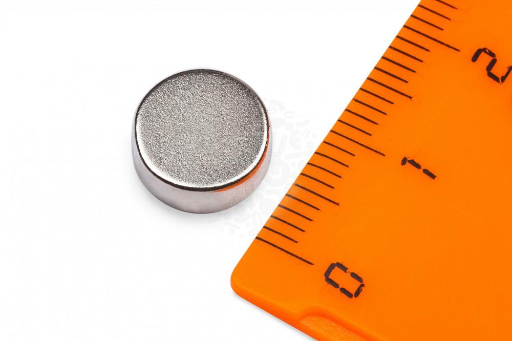 Неодимовый магнит диск 10х4 мм в Вологде