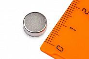 Неодимовый магнит диск 10х4 мм