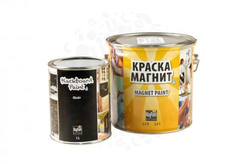 Набор красок Magpaint для магнитно-меловой стены 5 м² в Санкт-Петербурге