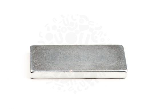 Неодимовый магнит прямоугольник 50х25х5 (цинк) мм N40H в Перми