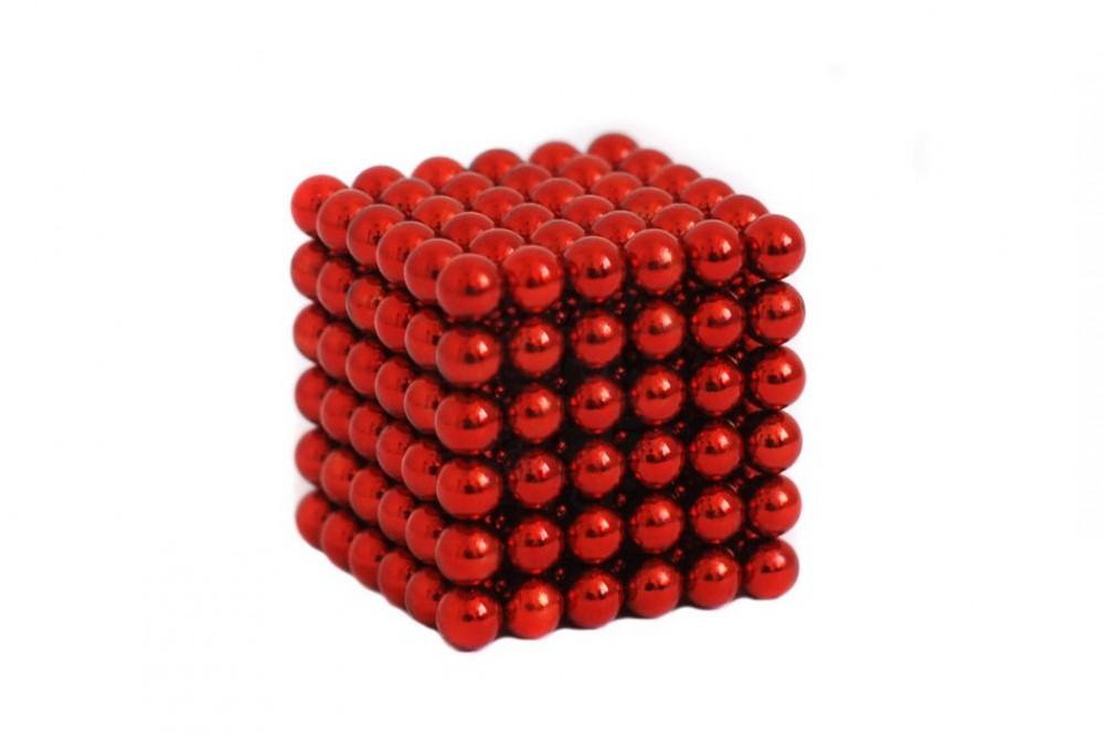 Forceberg Cube - куб из магнитных шариков 5 мм, красный, 216 элементов в Волгограде