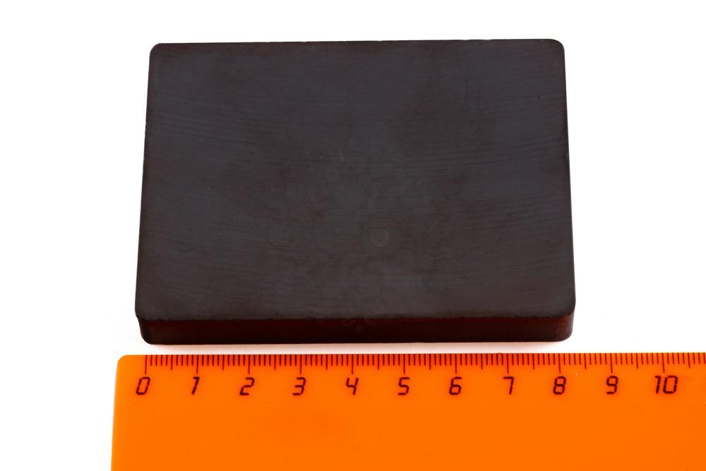 Ферритовый магнит прямоугольник 84х64х10 мм в Пензе