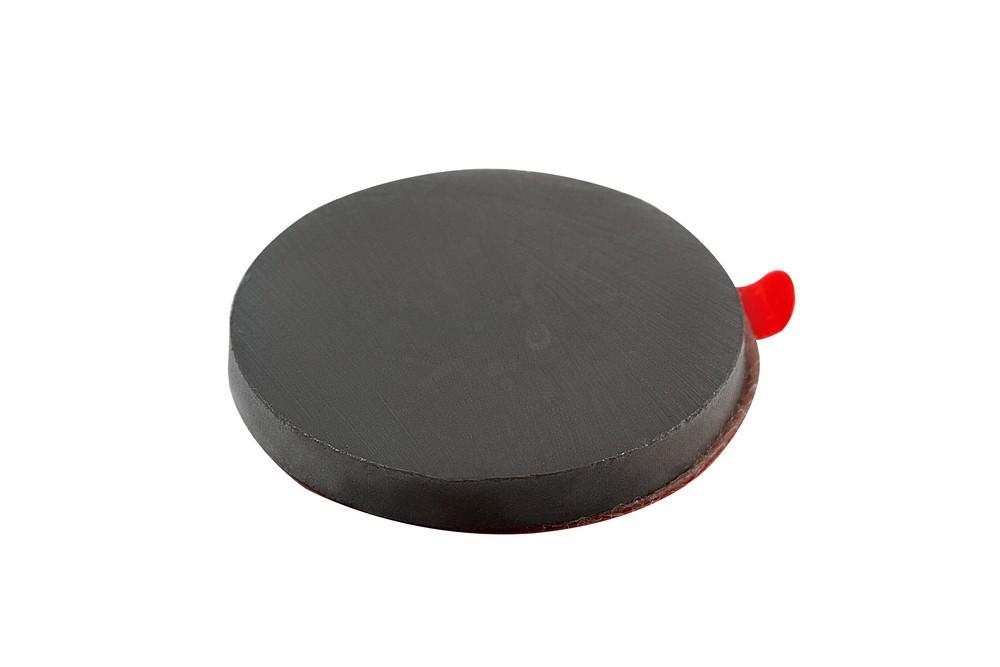 Ферритовый магнит диск 25х3 мм с клеевым слоем в Нижнем Новгороде