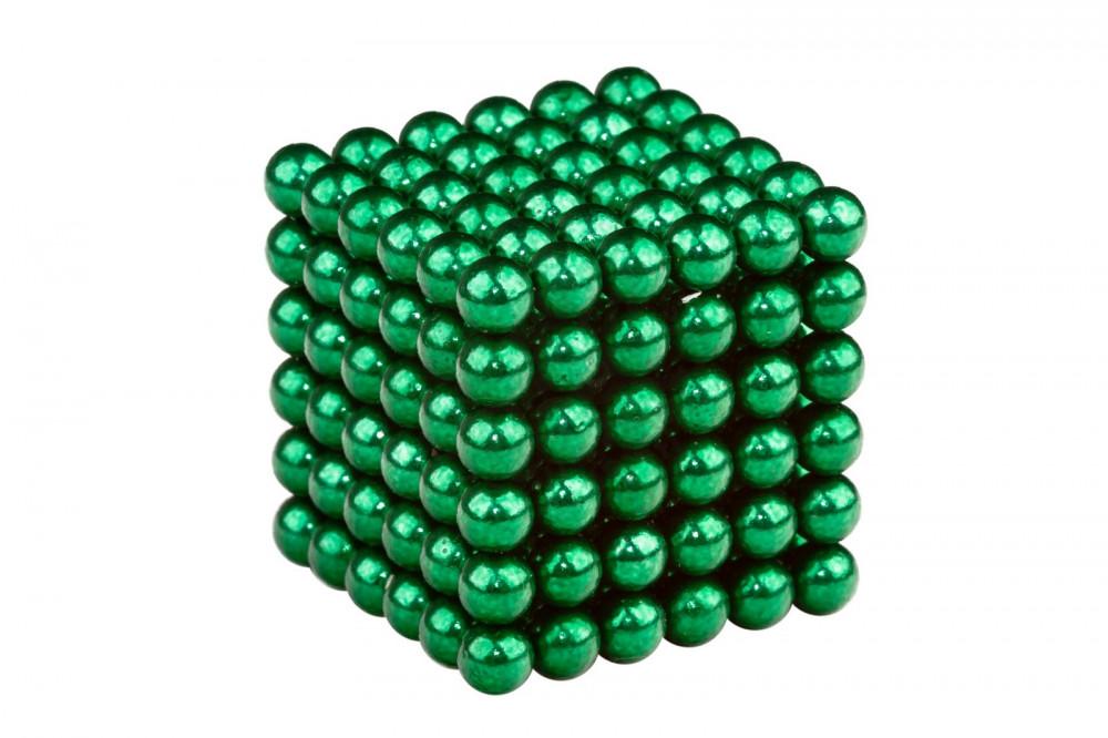 Forceberg Cube - куб из магнитных шариков 6 мм, зеленый, 216 элементов в Москве