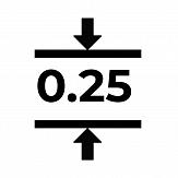 Магнитный винил толщиной 0.25 мм